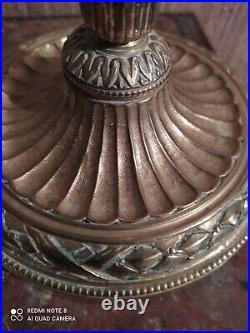 Paire de Bougeoirs en Bronze de Style Louis XVI