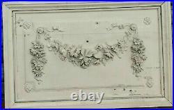 Panneaux de boiserie de Style Louis XVI en bois et stuc patiné XIX siècle