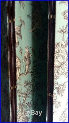 Paravent papier peint Zuber 4 Panneaux de style Louis XVI XXe siècle
