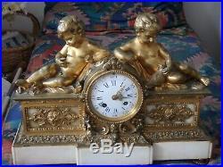 Pendule XVIII ème (Empire)Napoléon III, style Louis XVI