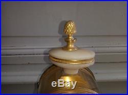 Pendule style Louis XVI, marbre et bronzes dorés