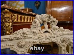 Petit Paravent De Style Louis XVI Aux Têtes De Béliers