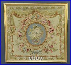 Petite Tapisserie d'Aubusson XIXème de style Louis XVI