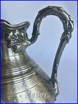 Pot A Lait Argent 155 Grammes Harleux Style Louis XVI Minerve XIX Eme H35