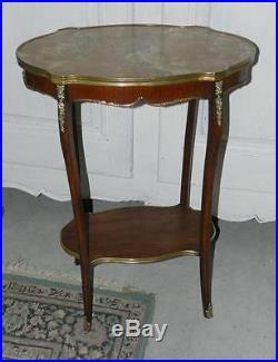 @ Rare & Elégante Table d'Entre-Deux Milieu 19é, de style Louis XVI @
