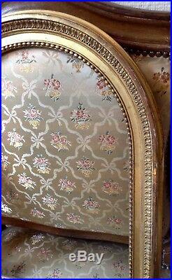 Rare cadre bois et stucs dorés style Louis XVI Epoque EMPIRE pour Crucifix XIXe