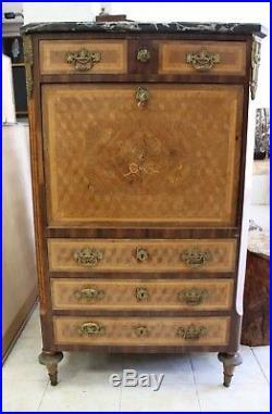 Secretaire Style Louis XVI époque XIXème