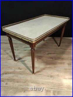 Table Basse En Acajou Style Louis XVI