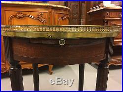 Table bouillotte style Louis XVI