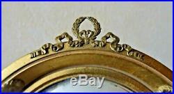 Tout petit miroir de sorcière de style louis XVI