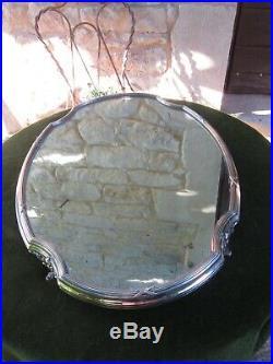 XIX BEAU SURTOUT DE TABLE DE STYLE LOUIS XVI 54 cm