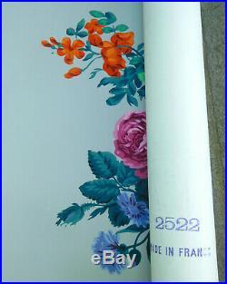 ZUBER série de 3 dessus de porte en papier peint de style Louis XVI